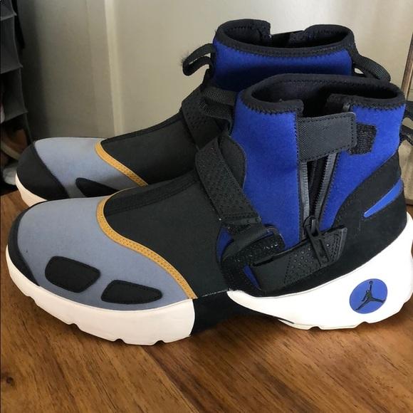 Jordan Trunner LX High Black Grey Blue AJ3885 010